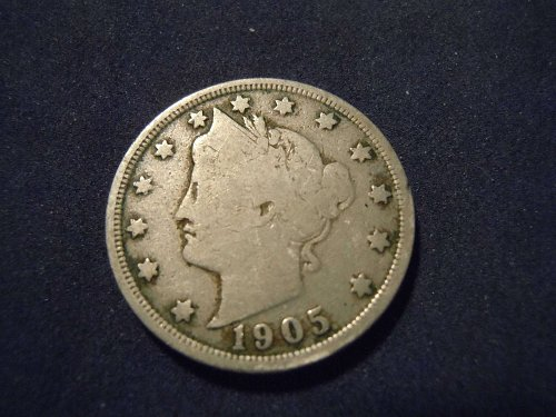 "1905 LIBERTY HEAD ""V"" NICKEL (A131)"