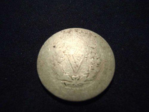 """1891 LIBERTY HEAD """"V"""" NICKEL (A116)"""