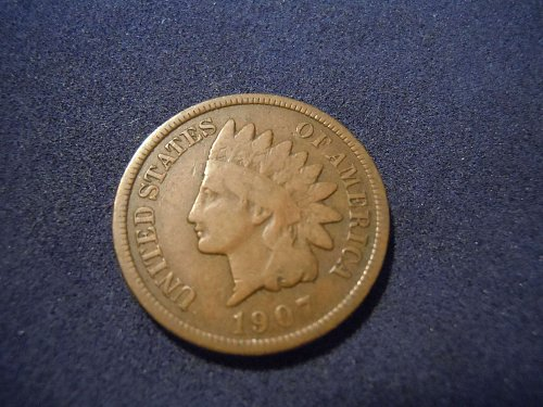 1907 INDIAN HEAD CENT (A161)