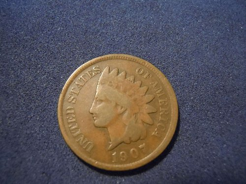 1907 INDIAN HEAD CENT (A162)
