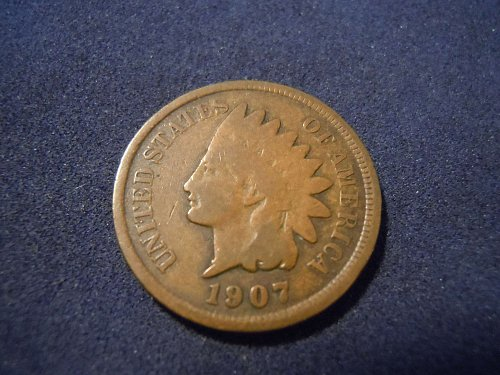 1907 INDIAN HEAD CENT (A163)