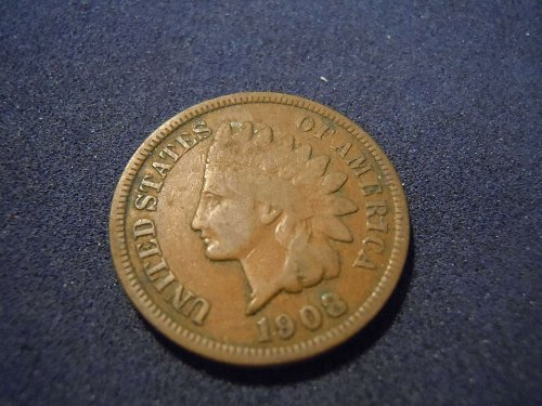 1908 INDIAN HEAD CENT (A166)
