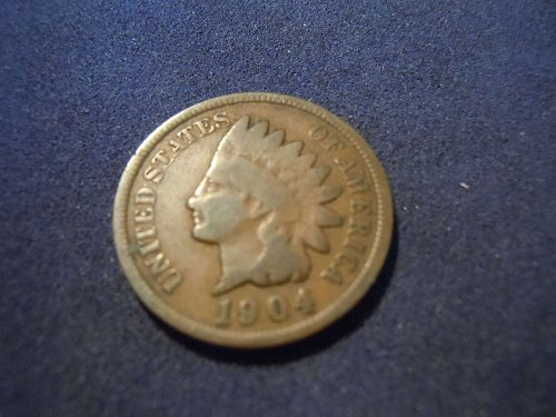 1904 INDIAN HEAD CENT (A167)