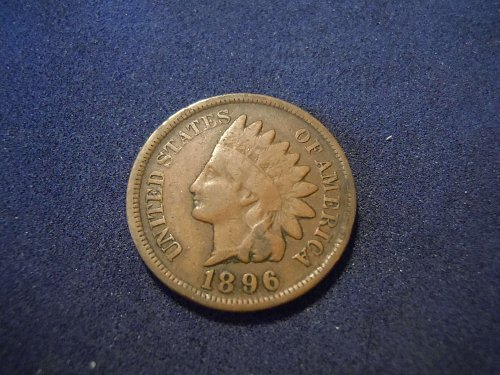 1896 INDIAN HEAD CENT (A168)