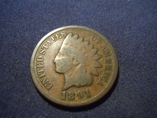 1891 INDIAN HEAD CENT (A171)
