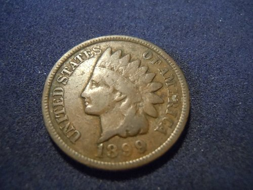 1899 INDIAN HEAD CENT (A174)