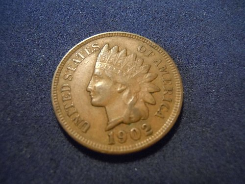 1902 INDIAN HEAD CENT (A175)