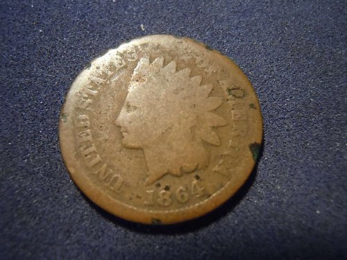 1864 INDIAN HEAD CENT (A178)