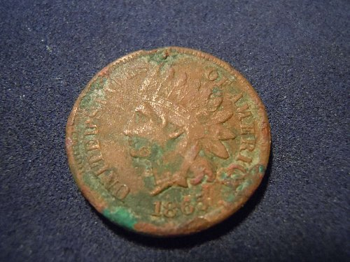 1865 INDIAN HEAD CENT (A179)