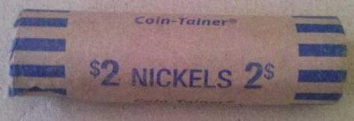 Jefferson nickels full shotgun rolls pre 1965 with possible BUFFALO'S