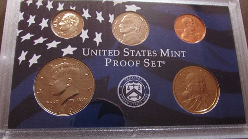Lot of 2 proof sets including quarters: 2002, & 2003