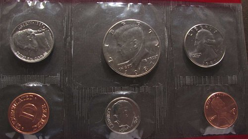 Lot of 3 Proof Sets: 1984, 1985, & 1986 and 1987P/D Uncirc Set