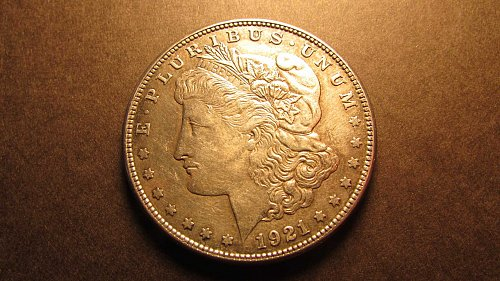 Morgan Dollar 1921 S EF-40