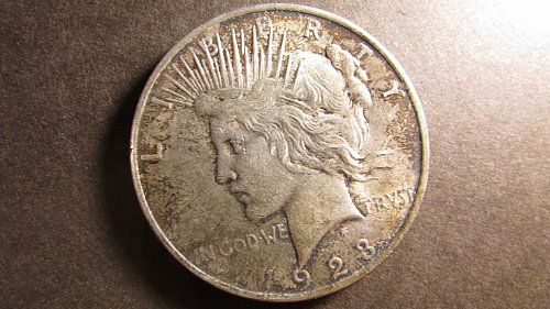 Peace Dollar 1923 VF-20