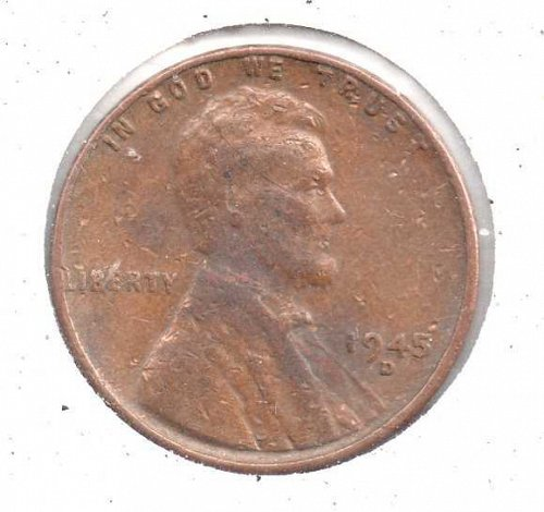 1945d Lincoln Wheat Penny #3