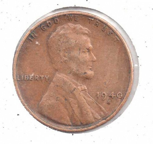 1940s Lincoln Wheat Penny #3