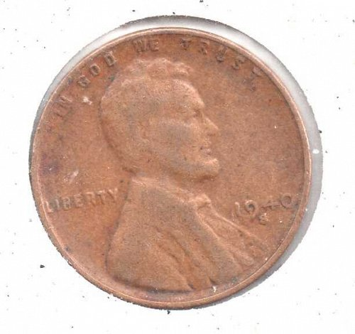 1940s Lincoln Wheat Penny #4