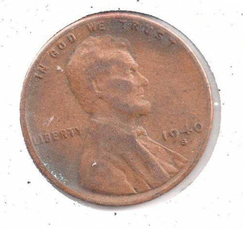 1940s Lincoln Wheat Penny #5