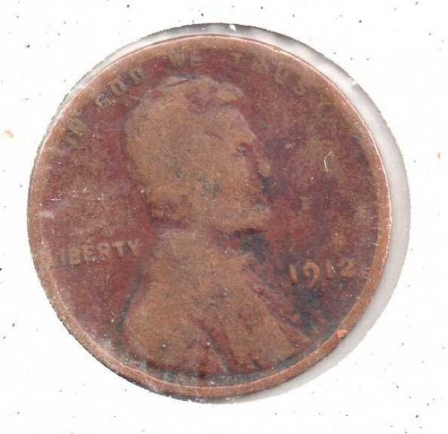 1912p Lincoln Wheat Penny #3