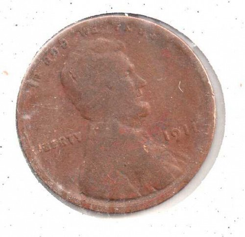 1911p Lincoln Wheat Penny #3