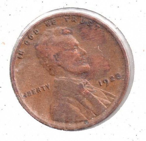1928p Lincoln Wheat Penny #4