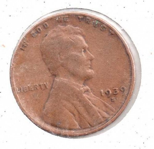 1939s Lincoln Wheat Penny #3