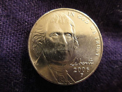 2006-P Jefferson Nickel MS-63 (Choice BU) 4 Steps