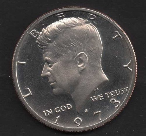 1973s Proof Kennedy Half Dollar #3