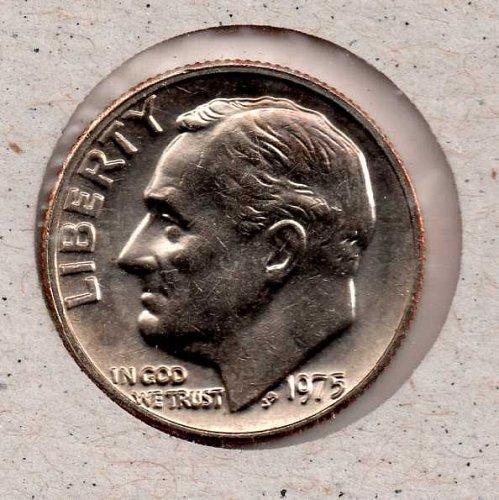 1975p BU Roosevelt Dime #3