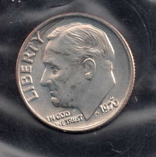 1970d BU Roosevelt Dime #3