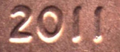2011 Lincoln Cent Doubled Die Obv Cent