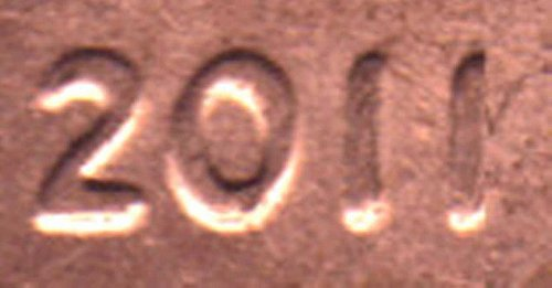 2011 Doubled Die Obverse Lincoln Cent