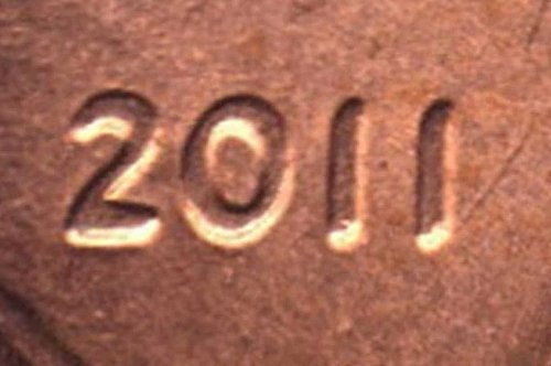 2011 Lincoln Cent Doubled Die Obverse cent
