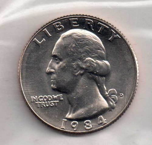 1984d BU Washington Quarter #2