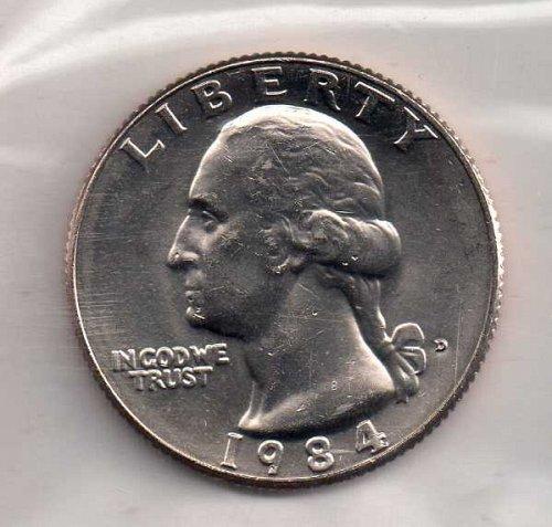 1984d BU Washington Quarter #2