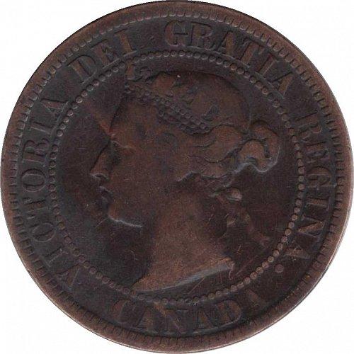 1884 Canada Cent