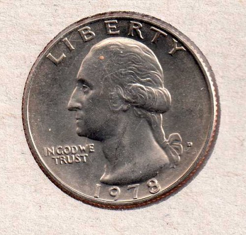 1978d BU Washington Quarter #2