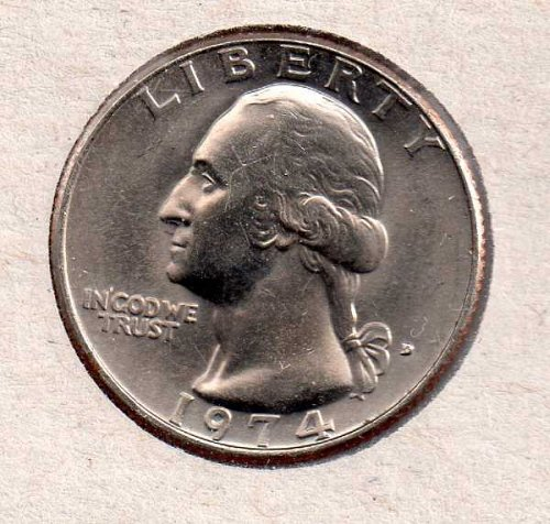 1974d BU Washington Quarter #2