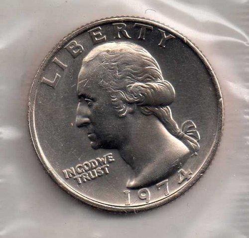 1974p BU Washington Quarter