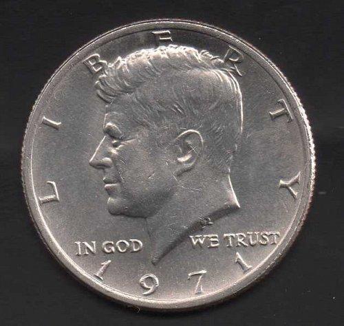 1971p Kennedy Half Dollar #3