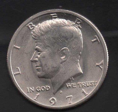1971d Kennedy Half Dollar #3