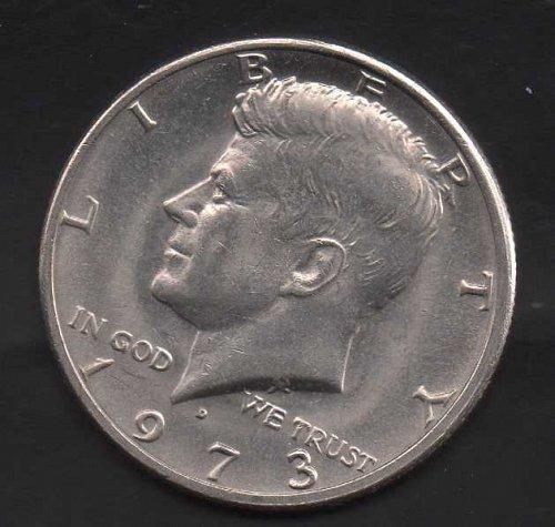 1973d Kennedy Half Dollar #2