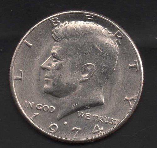 1974d Kennedy Half Dollar #3