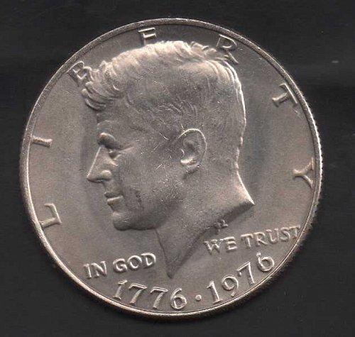 1976p Kennedy Half Dollar