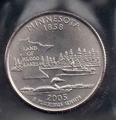 2005d BU Minnesota Washington Quarter #2