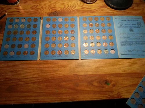 lincoln cent collection 1941-1974