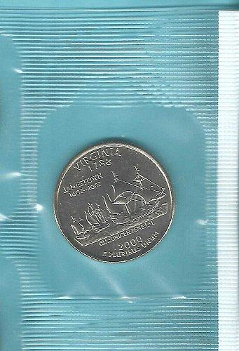 2000 P  VIRGINIA STATE QUARTER