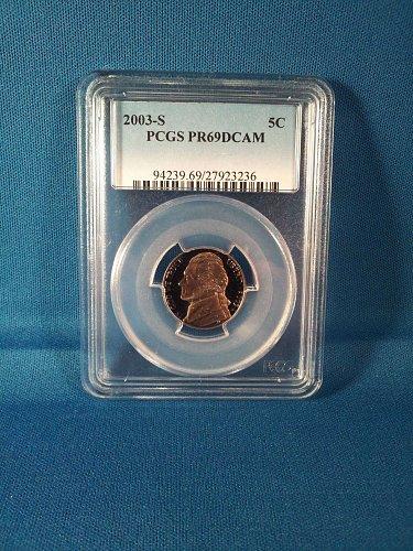 2003-S PCGS PR69DCAM 5C