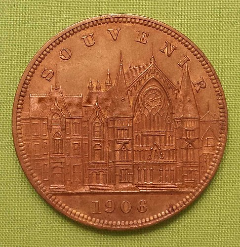 1906 Cincinnati Fall Festival Coin