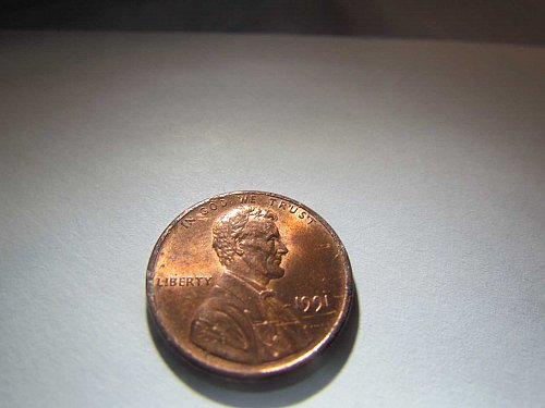 1991 MEMORIAL CENT ONE CENT PENNY AUCT#6